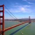 San Francisco Golden Gate Bridge by Debra Thompson