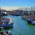 San Francisco Harbor Impressions by Greg Norrell