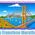 San Francisco Marathon Panorama by Phil Dynan