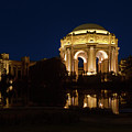 San Francisco Palace Of Fine Arts At Night by Grant Groberg
