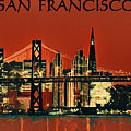 San Francisco Poster by Dan Sproul
