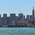 San Francisco Skyline -1 by Tommy Anderson