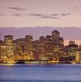 San Francisco Skyline by Bryan Mullennix