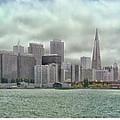 San Francisco Skyline by Debby Richards