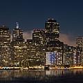 San Francisco Skyline by Jerry Fornarotto