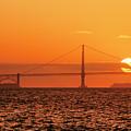 San Francisco Sunset by Hans Mauli