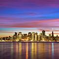 San Francisco Sunset by Photo by Alex Zyuzikov