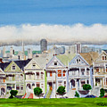 San Francisco's Painted Ladies by Mike Robles