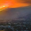 San Gabriel Complex Fire by Christian Flores