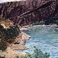 San  Gabriel Reservoir by Jack Spath