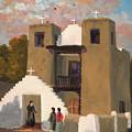 San Geronimo De Taos Spanish Mission by Ken Pieper