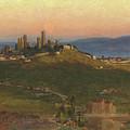 San Gimignano, 1898 by Edith Ridley Corbet