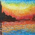 San Giorgio At Dusk by Amelie Simmons
