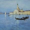 San Giorgio Maggiore by Helen Allingham
