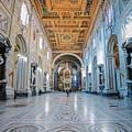 San Giovanni In Laterano Rome Italy by Joan Carroll