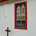 San Iglesia Church Window by Jerry McElroy