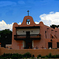 San Ildefonso Pueblo by David Lee Thompson