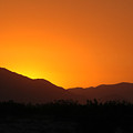 San Jacinto Dusk Near Palm Springs by Michael Ziegler