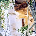 San Juan Capistrano Under The Archway by Theo  Snell
