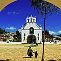 San Juan Chamula Church In Chiapas, Mexico by Sam Antonio Photography