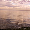 San Juan De Fuca Strait And Salish Sea At Dusk by NaturesPix