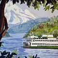 San Juan Ferry by Aaron Beaty