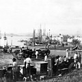 San Juan Harbor - Puerto Rico - C 1900 by International  Images