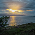 San Juan Island Sunset by Tom Singleton