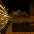 San Marco In Venice At Night by Michael Henderson