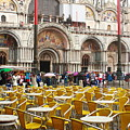 San Marco On A Rainy Day by Michael Henderson