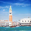 San Marco Square Waterfront by Anastasy Yarmolovich