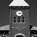 San Miguel County Courthouse by David Lee Thompson