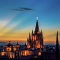 San Miguel Sunset by David Meznarich