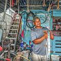 San Pedro Bike Repair by David Zanzinger