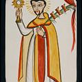 San Ramon Nonato - St. Raymond Nonnatus - Aoran by Br Arturo Olivas OFS