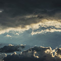 San Salvador Sunset 2 by Totto Ponce