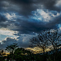 San Salvador Sunset 5 by Totto Ponce