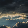 San Salvador Sunset 6 by Totto Ponce