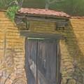San Sebastian Garden Door by Anita Wann