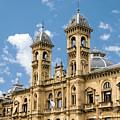 City Hall - San Sebastian - Spain by Jon Berghoff