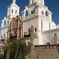 San Xavier Del Bac by Dennis Boyd