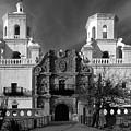 San Xavier Del Bac Mission by Sandra Bronstein