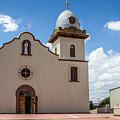 San Ysleta Mission by Robert J Caputo