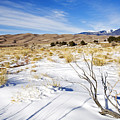 Sand And Snow by Mike  Dawson