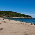 Sand Beach Acadia National Park by Jason O Watson