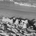 Sand Castles By The Shore by Rob Hans