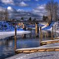 Sand Creek Winter by Lee Santa