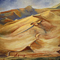 Sand Dunes by Roena King