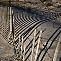 Sand Fence by Joel P Black