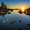 Sand Harbor Sunset by Jamie Pham